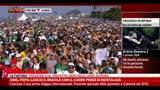 29/07/2013 - GMG, Papa: lascio il Brasile con il cuore pieno di nostalgia