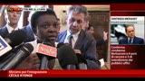 """30/07/2013 - Kyenge a Maroni: """"Stop agli attacchi nei miei confronti"""""""