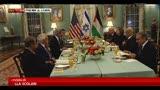 30/07/2013 - A Washington primi colloqui diretti israeliani e palestinesi