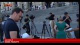 31/07/2013 - Processo Mediaset, forze politiche attendono sentenza