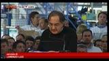 31/07/2013 - FIAT, Marchionne: Condizioni industriali Italia impossibili