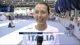 """05/08/2013 - Mondiali di scherma, ecco la Vezzali: """"Fantastico esserci"""""""