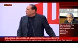06/08/2013 - Berlusconi, PDL lavora ad agibilità politica, Colle riflette
