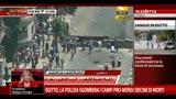 14/08/2013 - Egitto, la polizia sgombera i campi pro-Morsi:decine i morti