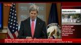"""14/08/2013 - Egitto, condanna di Kerry: """"Revocate lo stato di emergenza"""""""