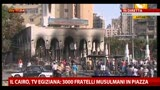 15/08/2013 - Scontri Egitto, in fiamme palazzi del governatorato di Giza