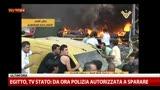 15/08/2013 - Egitto, tv Stato: da ora polizia autorizzata a sparare