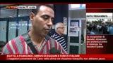 19/08/2013 - Egitto, a Fiumicino l'arrivo di egiziani e turisti italiani
