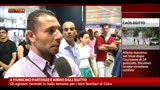 19/08/2013 - A Fiumicino partenze e arrivi dall'Egitto