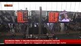 Sicurezza treni, telecamere nascoste e agenti in borghese