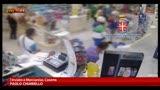 Ragazzi rapinatori, il video dell'assalto a una farmacia
