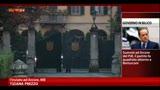 25/08/2013 - Vertice Arcore, Pdl unito al fianco di Berlusconi