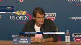 28/08/2013 - Us Open, Federer allontana l'ipotesi di un ritiro