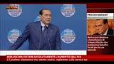 29/08/2013 - Berlusconi, evitare assolutamente l'aumento dell'Iva