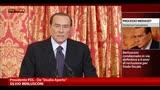 30/08/2013 - Mediaset, Berlusconi contro sentenza e voto della giunta