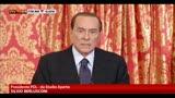 30/08/2013 - Berlusconi: nessuno pensi di eliminarmi