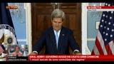 "30/08/2013 - Kerry: ""Più di 1.400 morti per attacco chimico di Assad"""
