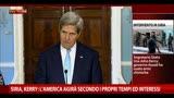 30/08/2013 - Siria,Kerry:America agirà secondo propri canoni e interessi