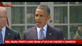 31/08/2013 - Siria, Obama: pronto ad attaccare ma chiederò a congresso