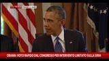 03/09/2013 - Obama: voto rapido dal Congresso per intervento Siria