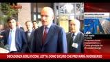 Decadenza Berlusconi, Letta: sicuro che prevarrà buonsenso