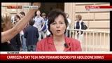 Berlusconi, Carrozza:mi aspetto senso di responsabilità