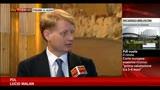 10/09/2013 - Malan: se respinte pregiudiziali, dimissioni del relatore