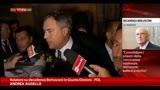 11/09/2013 - Decadenza Berlusconi, Augello ritira le pregiudiziali