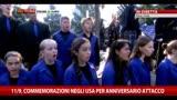 11/09/2013 - Commemorazione 11/09, gli Usa ricordano l'attacco