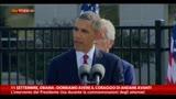 """11/09/2013 - 11/09, Obama: """"Dobbiamo avere il coraggio di andare avanti"""""""
