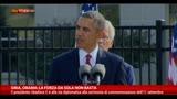 12/09/2013 - Siria, Obama: la forza da sola non basta