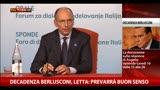 """12/09/2013 - Decadenza Berlusconi, Letta: """"Prevarrà il buon senso"""""""