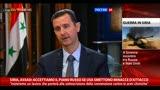 """12/09/2013 - Assad: """"Accettiamo il piano russo se USA smettono minacce"""""""