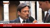 13/09/2013 - Voto decadenza Berlusconi, le parole di Stefano e Augello