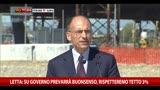 13/09/2013 - Letta: su Governo prevarrà buonsenso, rispetteremo tetto 3%