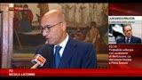 """13/09/2013 - Latorre: """"Berlusconi si faccia da parte, decadenza certa"""""""