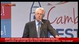 15/09/2013 - Monti: siamo moderati ma vogliamo politiche radicali