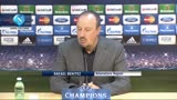 """Benitez ci crede: """"Borussia super, ma noi abbiamo fiducia"""""""