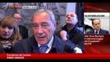 Decadenza Berlusconi, Grasso: voto di oggi interlocutorio