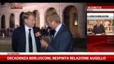 Decadenza Berlusconi, Malan a sky Tg24