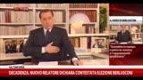 Il videomessaggio di Berlusconi: in campo contro al sinistra