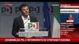 """Assemblea PD, Fassina: """"Non siamo un sistema bipartitico"""""""