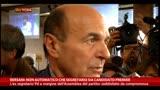 Bersani: non automatico che segretario sia candidato premier