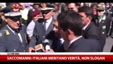 Saccomanni: italiani meritano verità, non slogan