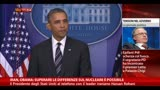 27/09/2013 - Iran, Obama: superare differenze su nucleare è possibile