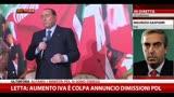 28/09/2013 - Gasparri: nostre idee non compatibili con scelte di governo