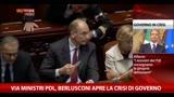 29/09/2013 - Berlusconi fa dimettere ministri Pdl. Letta: gesto folle