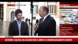 30/09/2013 - Speranza: Berlusconi irresponsabile, antepone suoi interessi