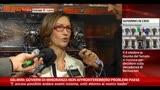 30/09/2013 - Gelmini:governi minoranza non affronterebbero problemi Paese