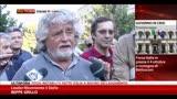 30/09/2013 - Grillo: su legge elettorale Letta mente